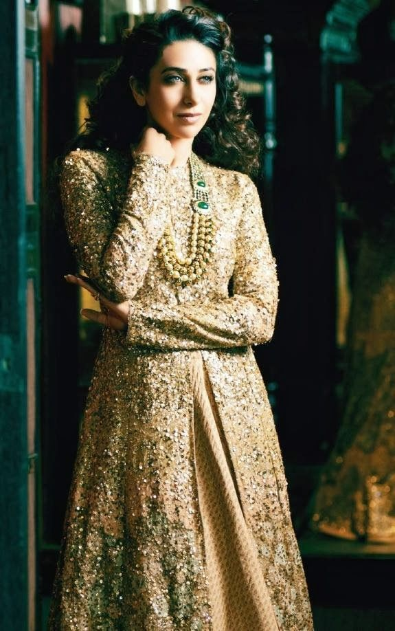 Bridal Inspiration: Soft Gold Lehengas by Sabyasachi on ... Sabyasachi Anarkali 2014