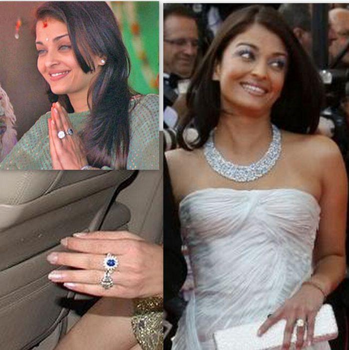 Celeb Engagement Rings - The Prettiest Rock? | WedMeGood
