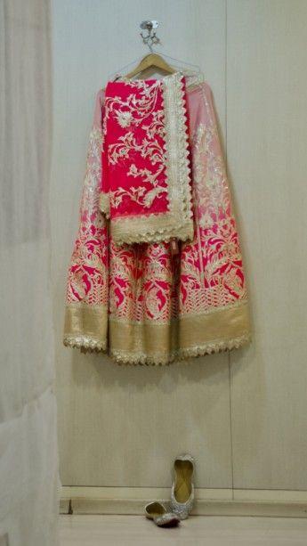 hot-pink-and-gold-bridal-lehenga