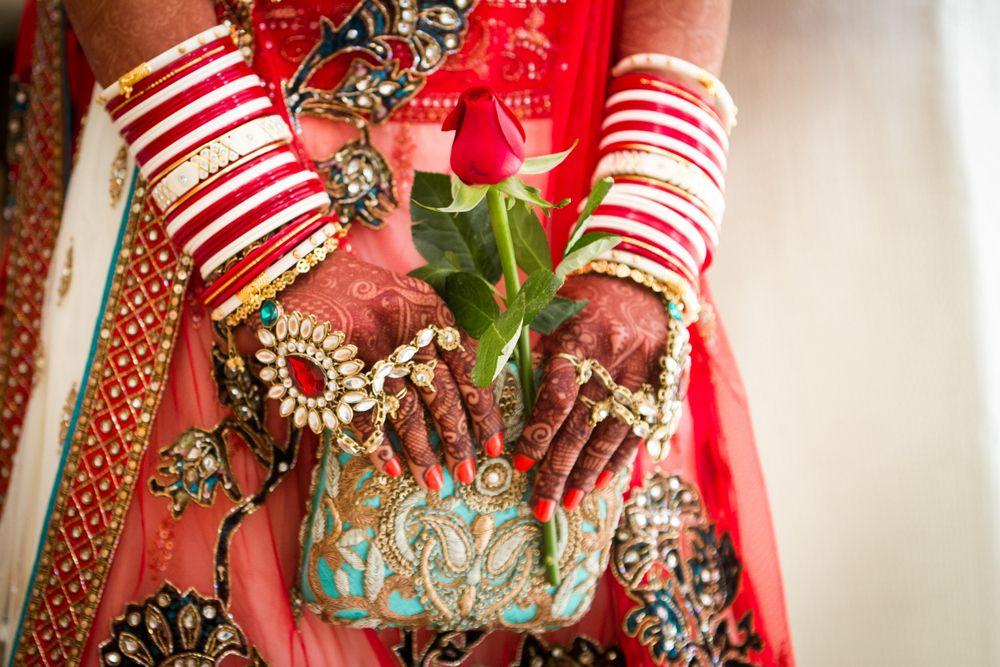 indian bridal clutch
