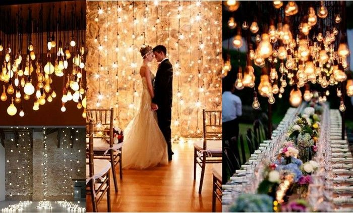 Nothing Screams Glamorous Louder Than Lots Of Bulbs Hanging Above The Bar Or As Strings To Cover Ceiling These Are Perfect For Any Sangeet