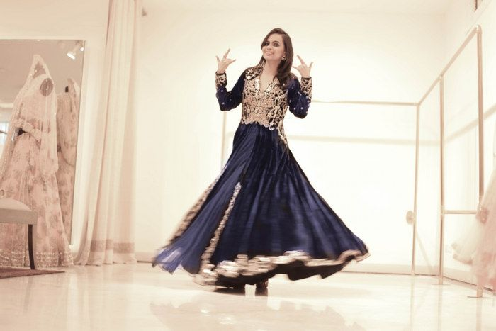 indian-bride-blue-anarkali