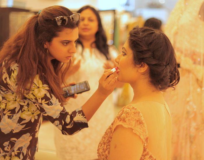 makeup-indian-engagement