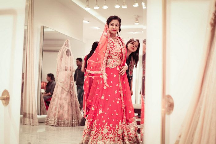 red-modern-bridal-lehenga