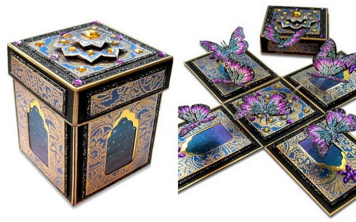 Box Of Wedding Invitations: Unique Indian Wedding Invitation Boxes That WOW !