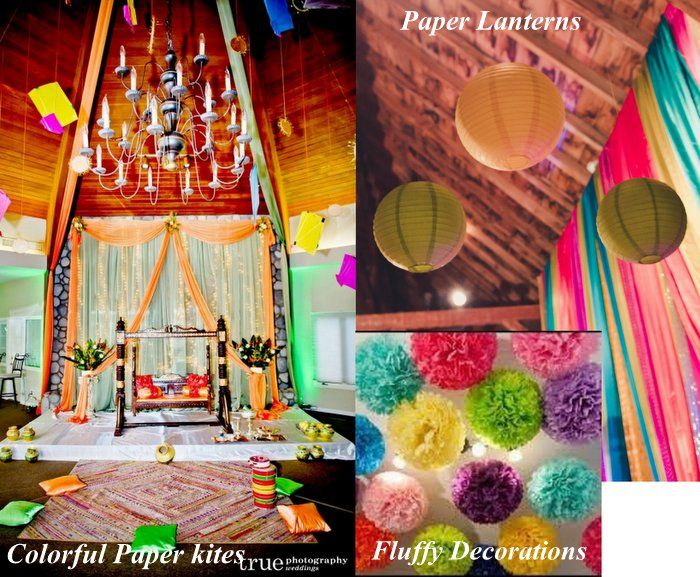 Mehndi Decoration Diy : Diy decor ideas for your mehendi three cheap chic