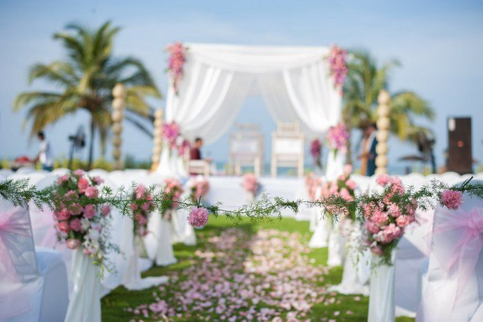 Indian Beach Wedding Decor 3