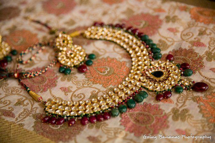 polki-emerald-necklace-bridal