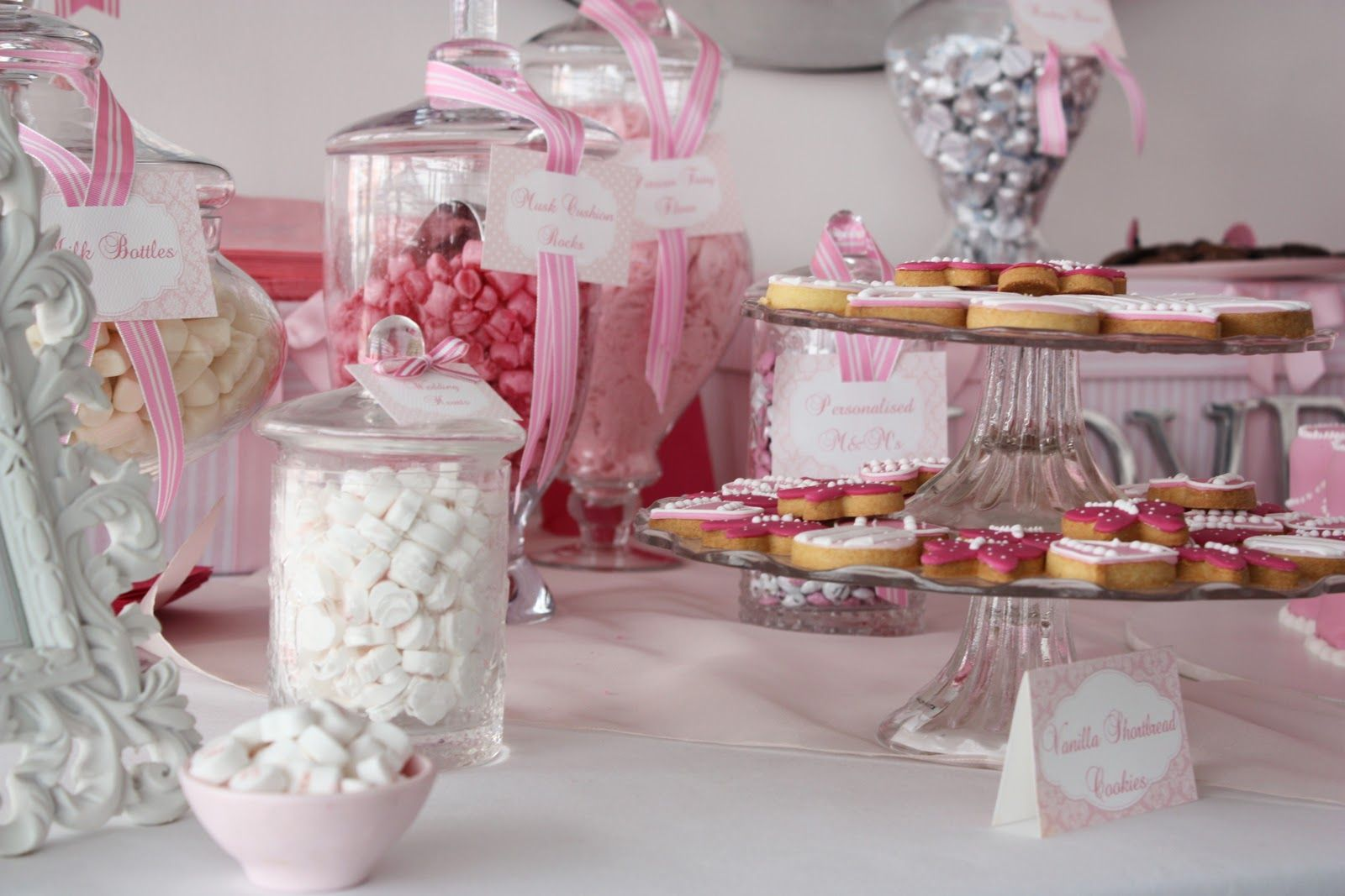 white-pink-candy-buffet-cookie-bar-wedding-ideas