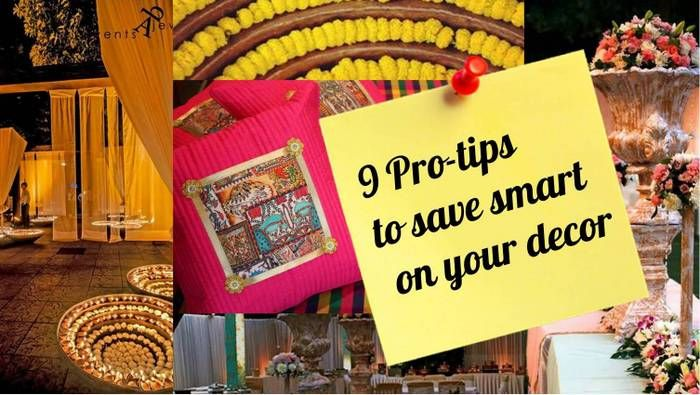 Super Smart tips to save on your wedding decor: Straight ...