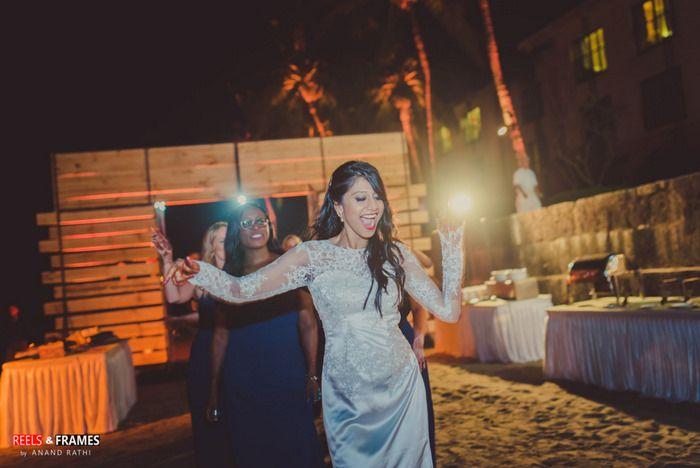 Indian Wedding Pool Party Decor