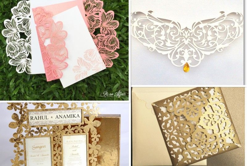 Wedding invites the freshest the coolest the newest for Laser cut wedding invitations in chennai