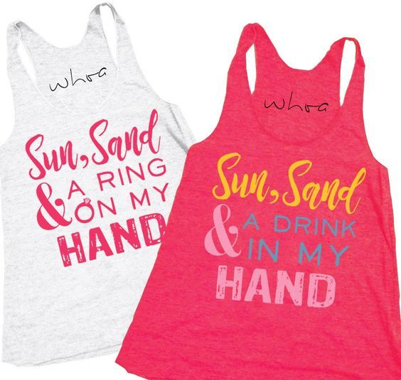 The Most Fun Slogans To Put On Your Bachelorette T Shirts