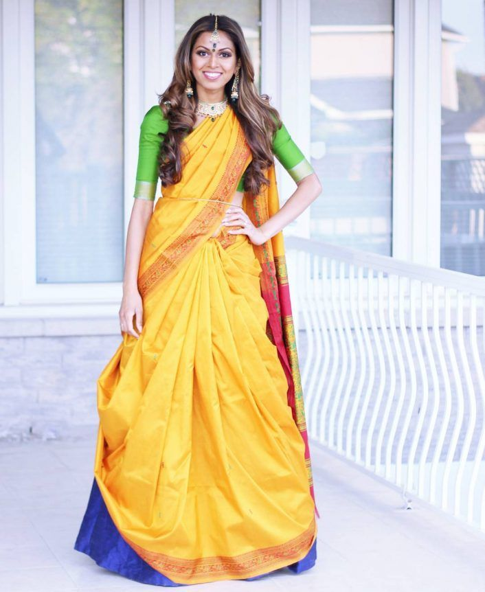 Whats The Cancan Saree DrapeThis Cool New Way To Wear