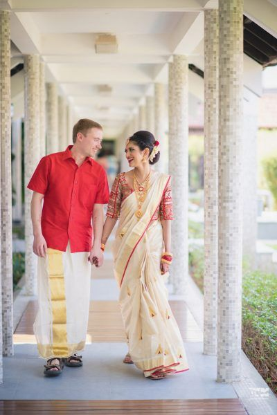 FirstPerson How I Planned My Indo Canadian Wedding In Kerala With 2 Ceremonies And Lots Of