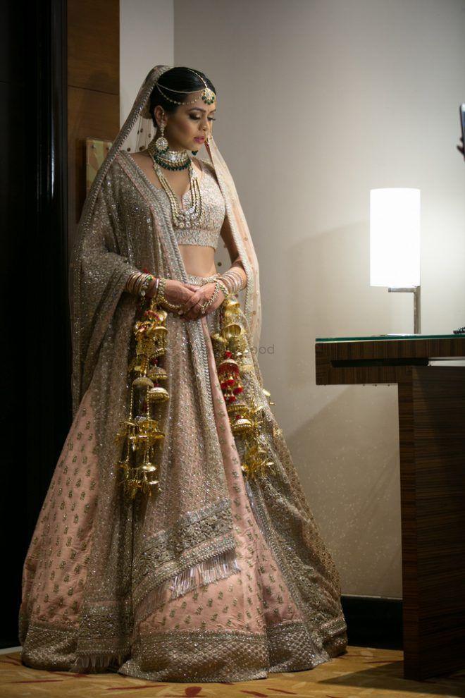 30 sabyasachi lehengas we spotted on real brides  wedmegood