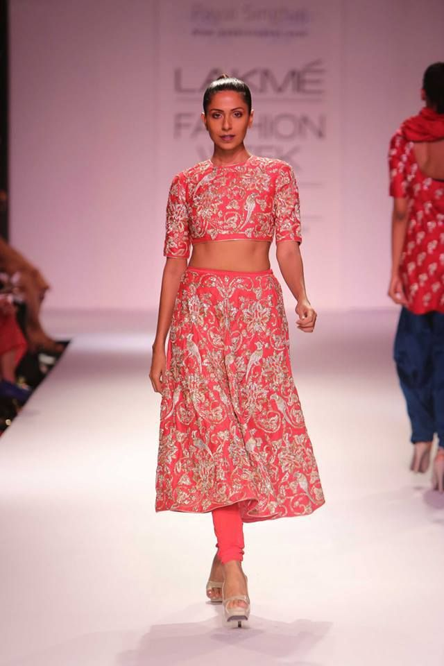 payal-singhal-crop-top-with-skirt-and-churidar