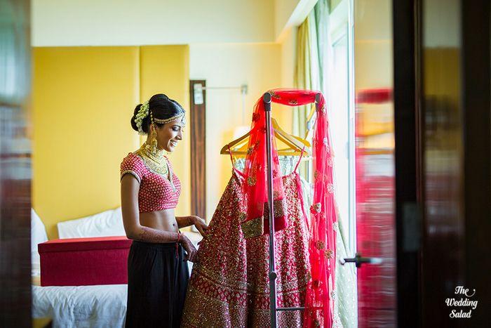 28 Manoshi _ Atit, Mumbai Wedding at Renaissance, The Wedding Salad_