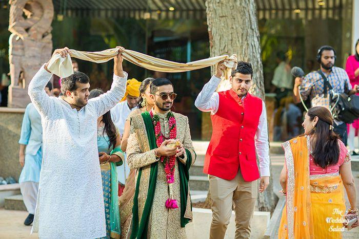 36 Manoshi _ Atit, Mumbai Wedding at Renaissance, The Wedding Salad_