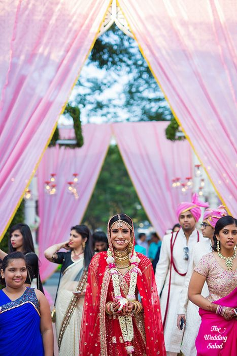 37 Manoshi _ Atit, Mumbai Wedding at Renaissance, The Wedding Salad_