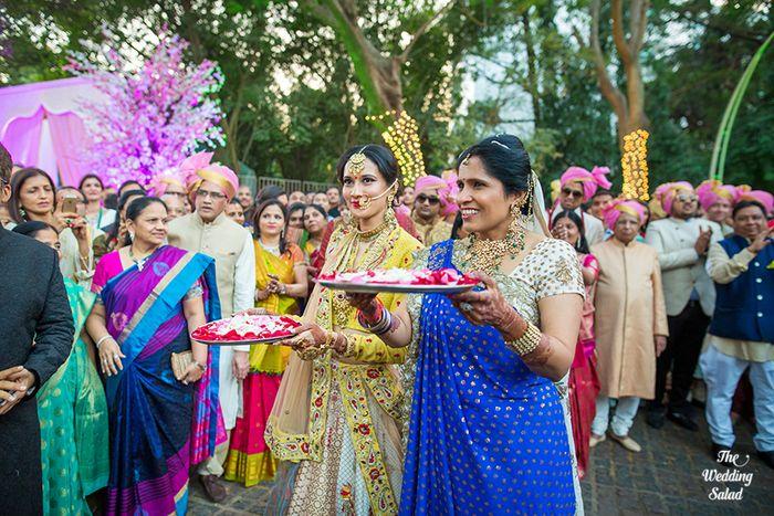 39 Manoshi _ Atit, Mumbai Wedding at Renaissance, The Wedding Salad_