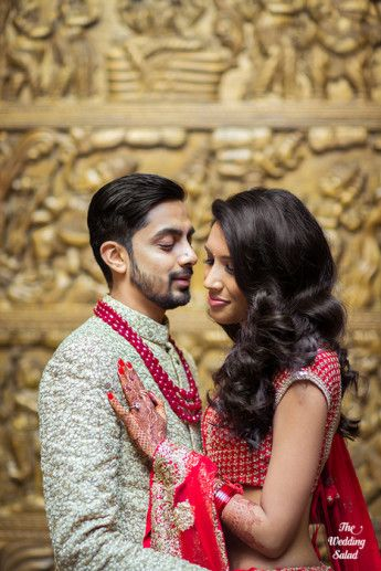 48 Manoshi _ Atit, Mumbai Wedding at Renaissance, The Wedding Salad_