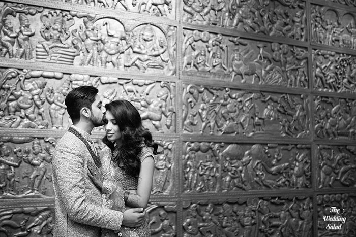 49 Manoshi _ Atit, Mumbai Wedding at Renaissance, The Wedding Salad_