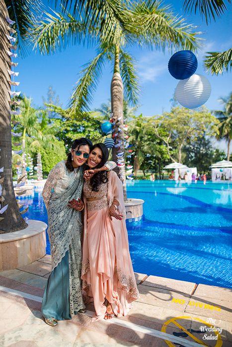 86 Manoshi _ Atit, Mumbai Wedding at Renaissance, The Wedding Salad_