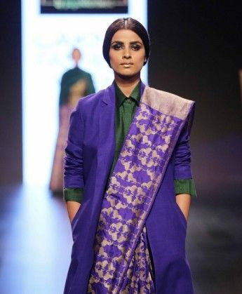 Model walks for Payal Khandwala at LFW WF 2016 (3)