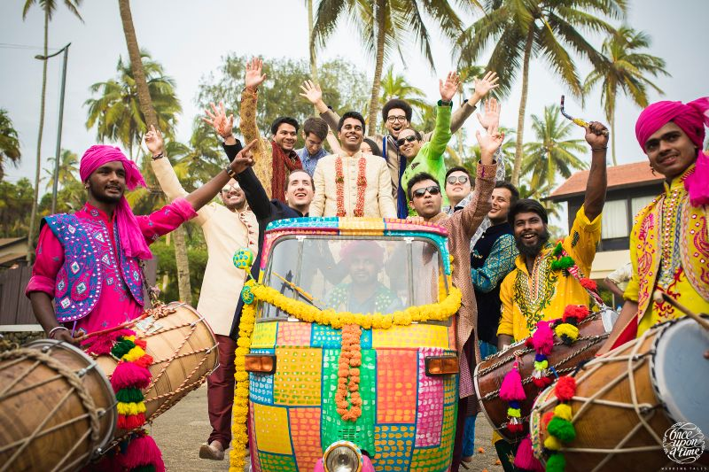 Groom Entry Songs to Download for Baraat Entry | WedMeGood