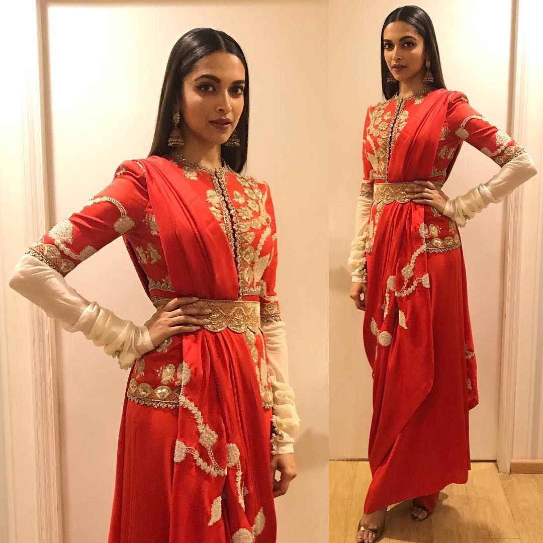 Bollywood inspired designer outfit