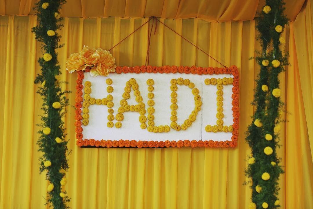 Budgetbrides Amazing New Haldi D 233 Cor Ideas Within 25k