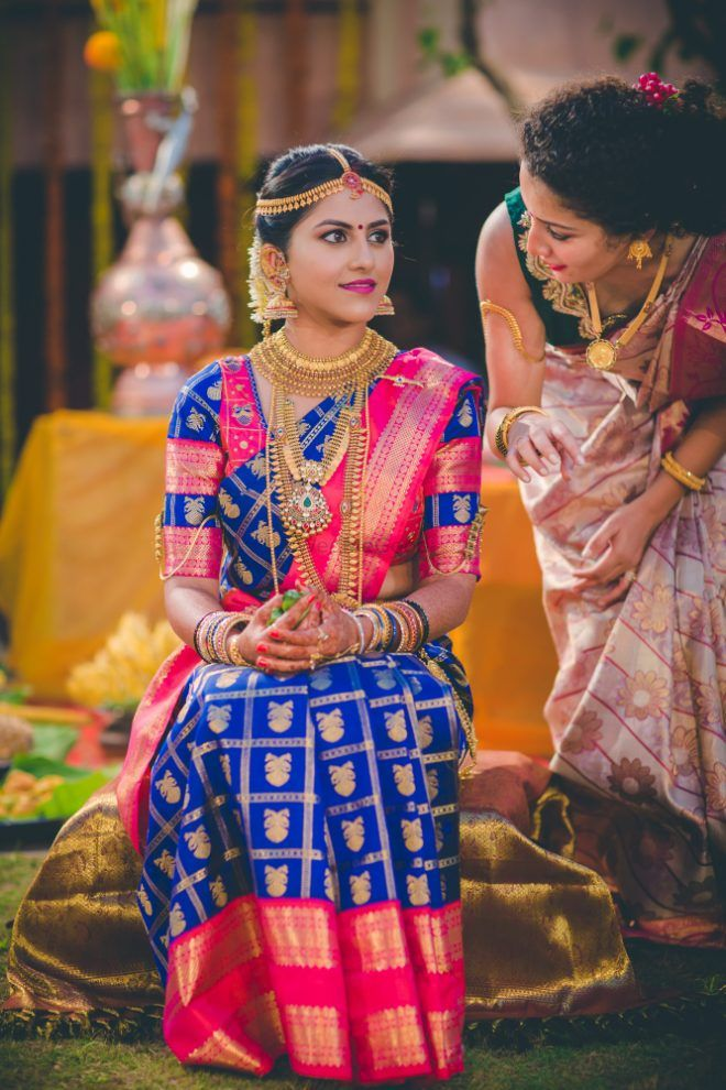 30 Best Bridal Pattu Sarees We Ve Spotted On Real Brides