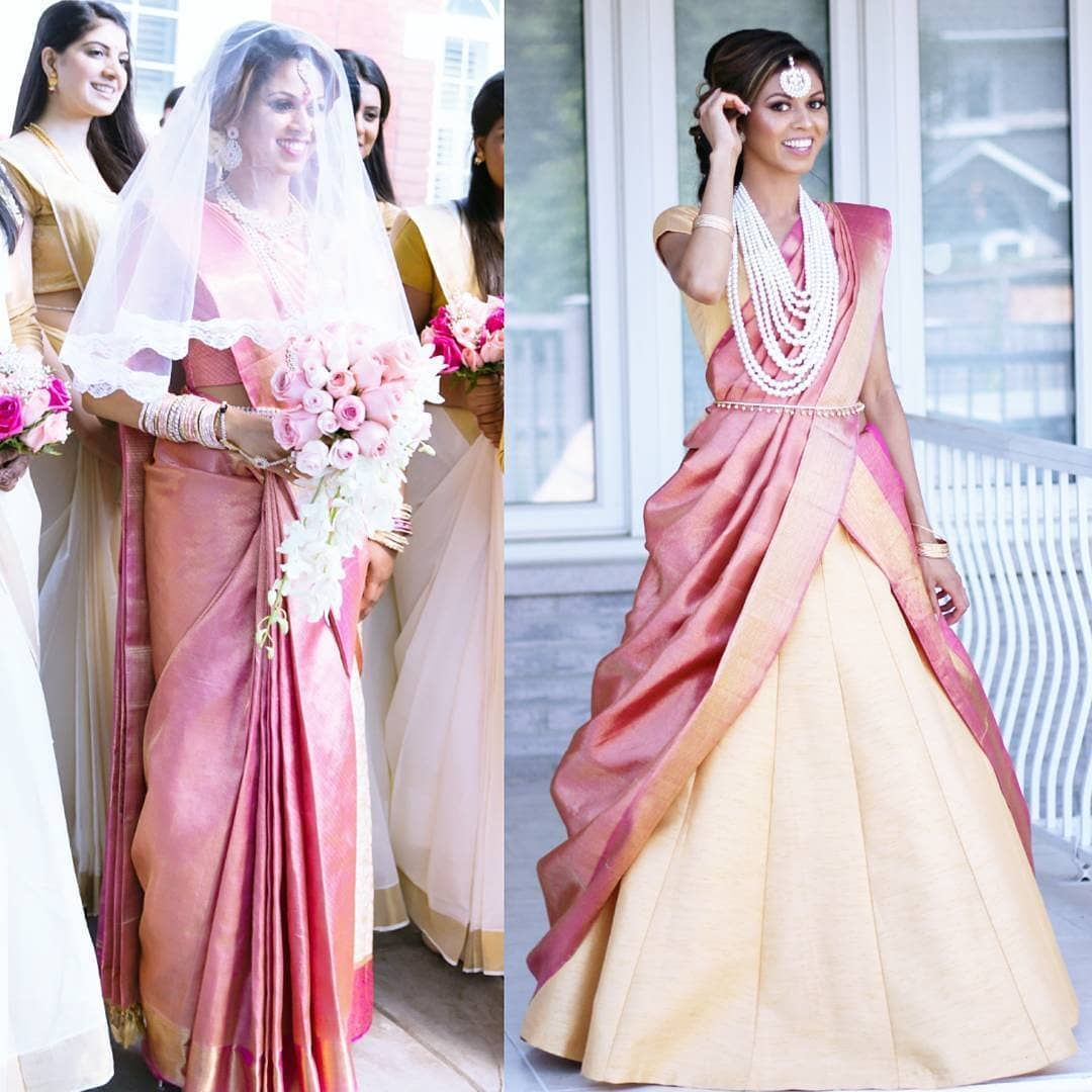 South Indian Style Wedding Dresses