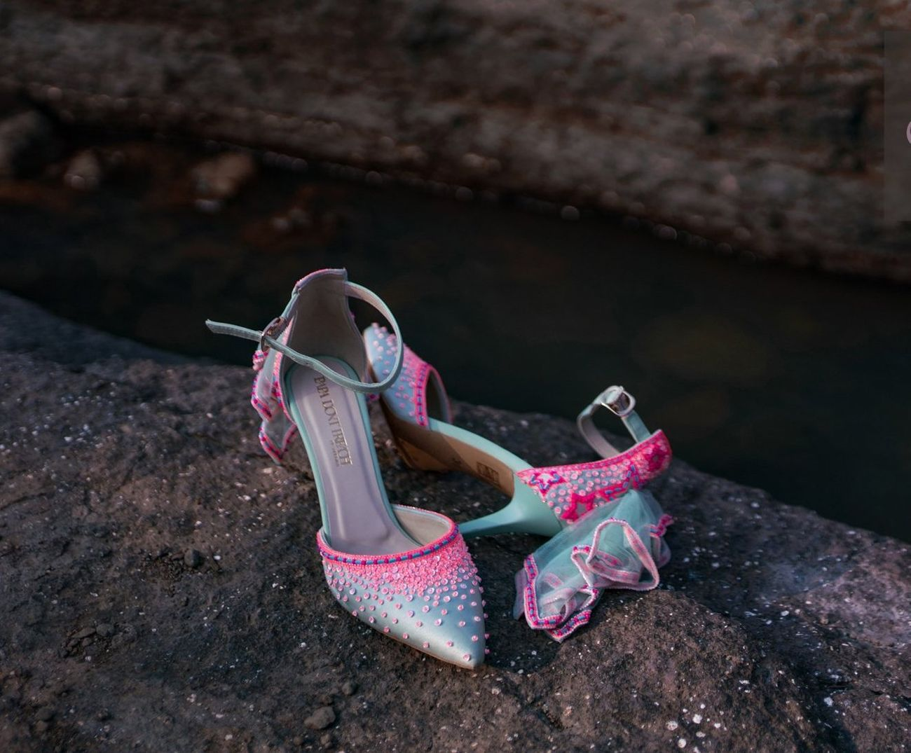 c565140f08 Trending: Wedding Shoes With Little Tutus & Trails! | WedMeGood