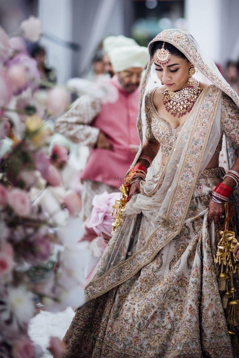 Amrita puri bridal lehenga