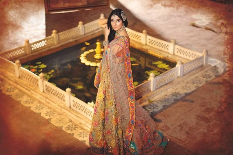 7b7c8c3ffa A much sought-after label in Pakistan, this label has an offbeat but  original style, which consists of exquisite wedding outfits which have a  touch of ...