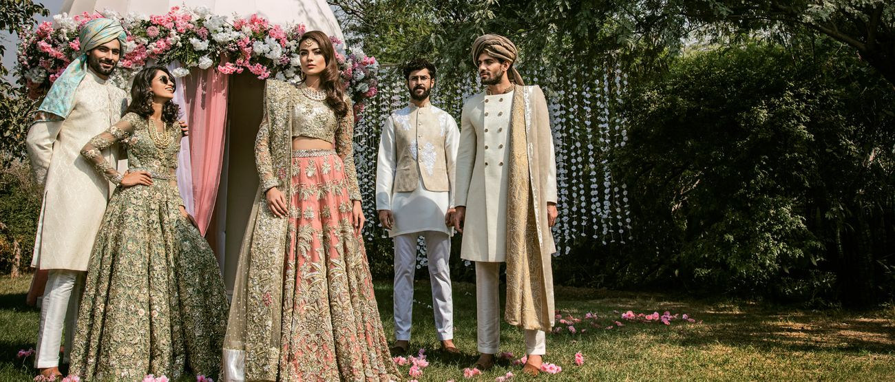 d7a227e254 ... Sana styles Pakistani style icon Mahira Khan and her designs are  something else! Sana does contemporary bridal so well, with beautiful work  and edgy ...