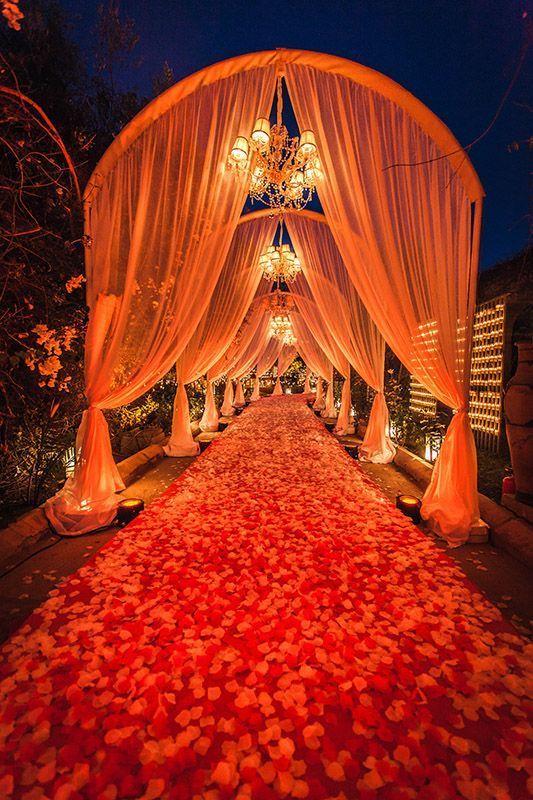 wedding entry walkway ideas