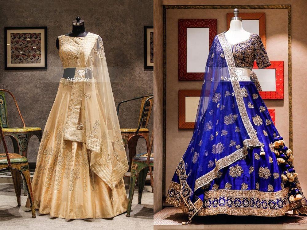 Designer bridal lehenga under 50k