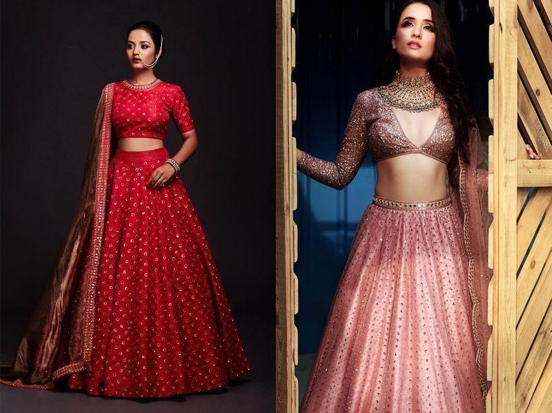 Designer bridal lehenga between 30-50k