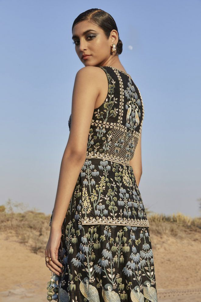 Anita Dongre Just Dropped A Limited Edition Handpainted Lehenga