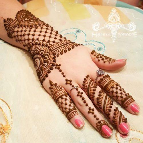 jaal arabic mehndi design