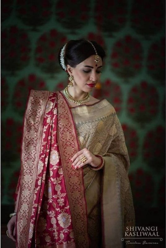 26683bed70 Banarasi Silk Sarees 101: Everything You Need To Know About Them ...