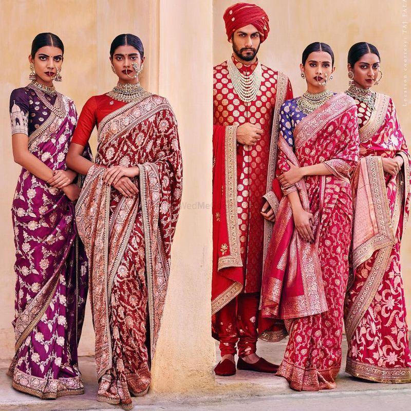 Sabyasachi Bridal Banarasi saree