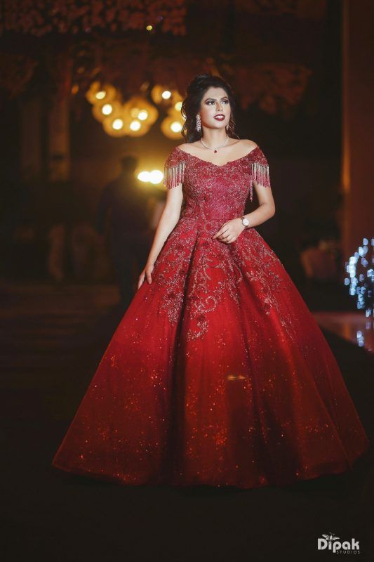 4a49f4d35e One's with a dramatic silhouette ensures that you stand out from the crowd.  We've curated a list of brides who wore gowns for engagement, for you to see  and ...