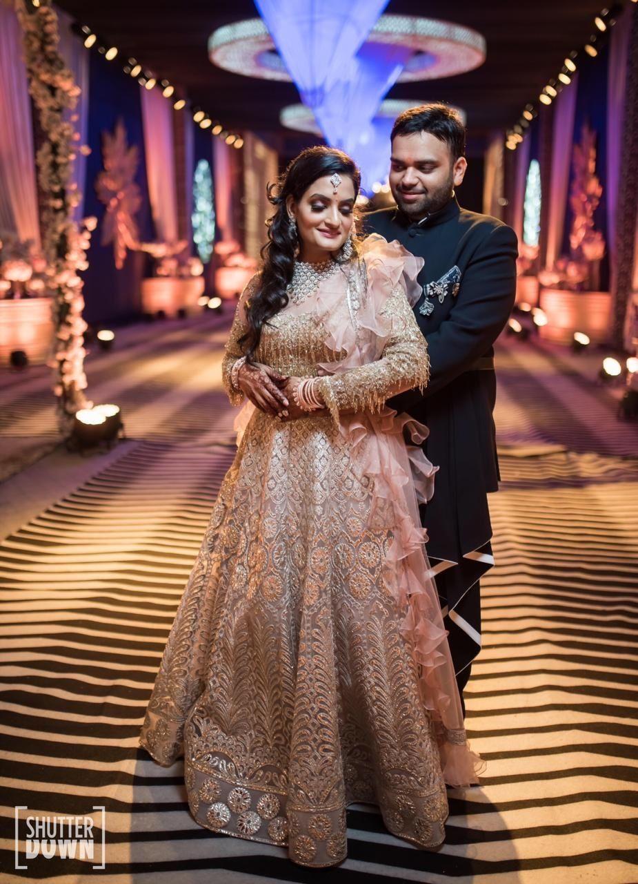 Designer Engagement Anarkali suit