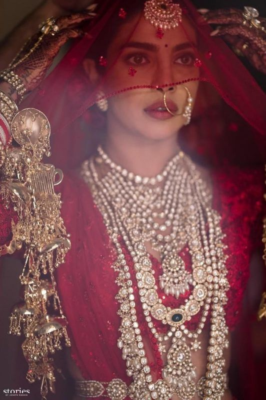 Priyanka Chopra wedding jewellery