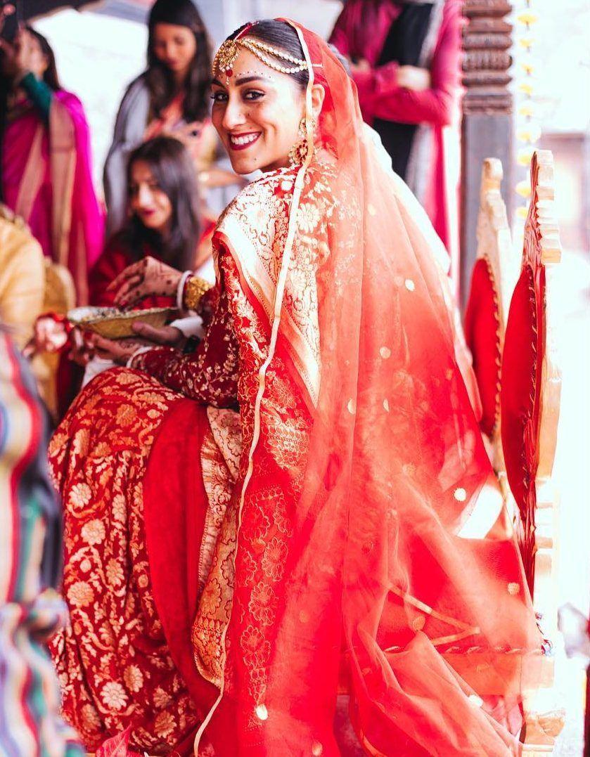Bridal Banarasi saree