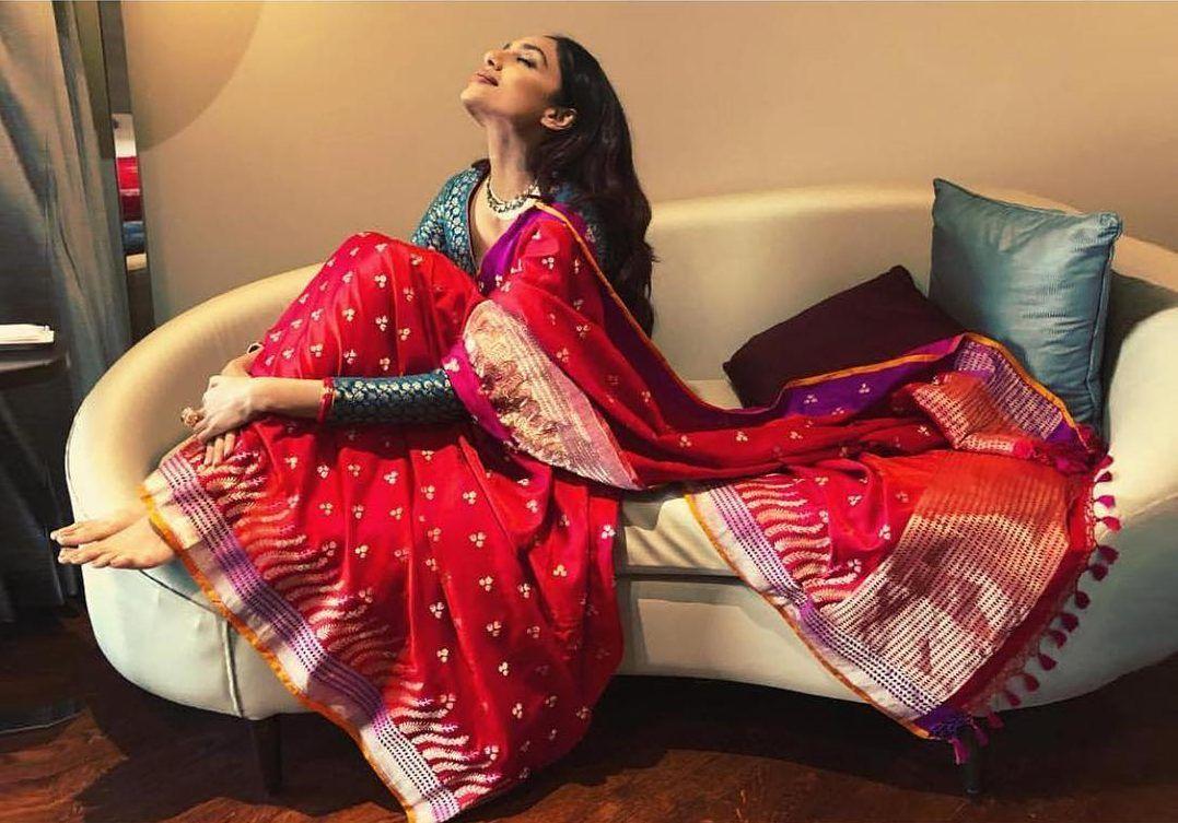 Ekaya designer banarasi saree